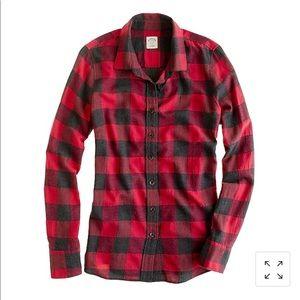 J. CREW perfect shirt in buffalo check